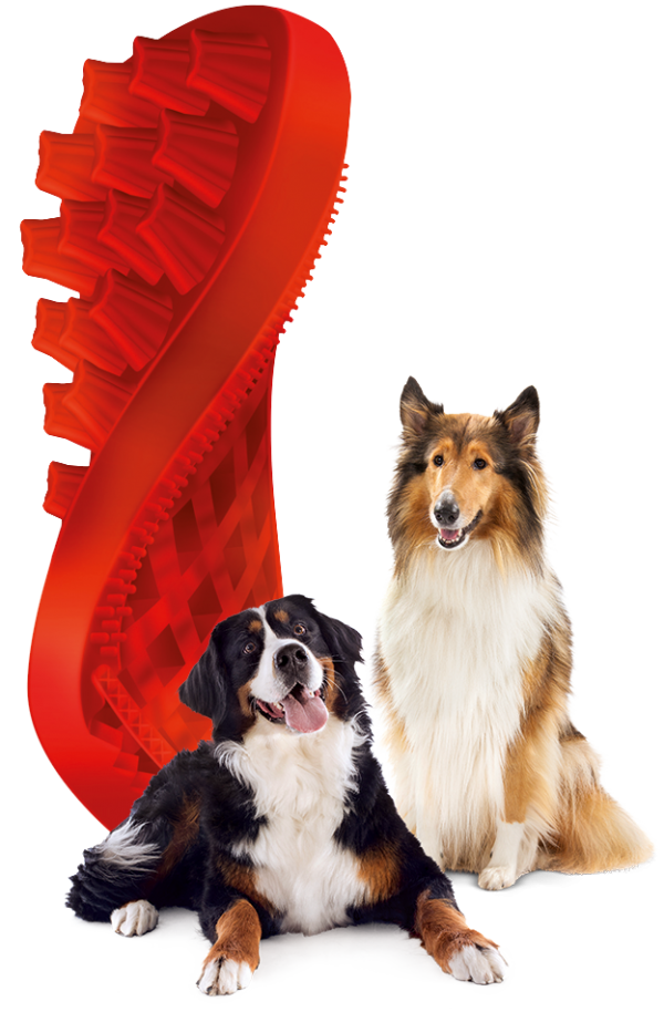 Pet + Me Red Brush - Firm